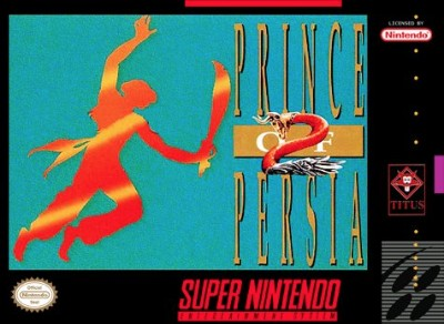 Prince of Persia 2 Cover Art