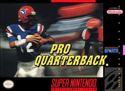 Pro Quarterback Cover Art