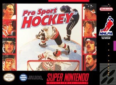 Pro Sport Hockey Cover Art