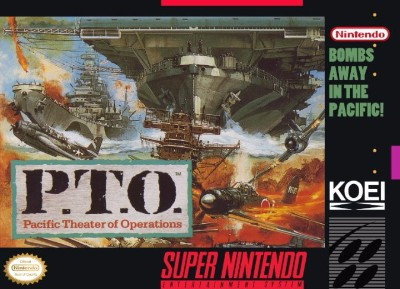 P.T.O: Pacific Theater of Operations Cover Art