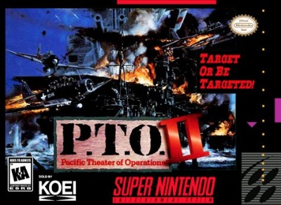 P.T.O. II: Pacific Theater of Operations Cover Art
