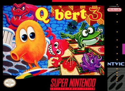 Q*bert 3 Cover Art