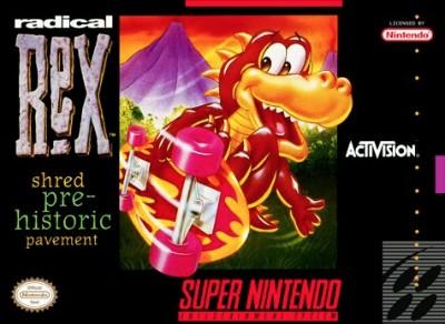 Radical Rex Cover Art