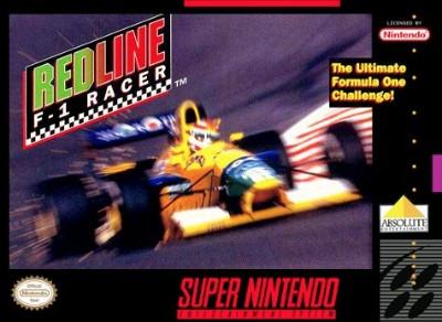 Redline F-1 Racer Cover Art