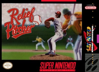 Relief Pitcher Cover Art