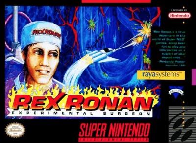 Rex Ronan: Experimental Surgeon Cover Art