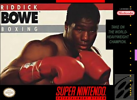 Riddick Bowe Boxing Cover Art