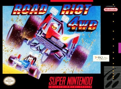 Road Riot 4WD Cover Art