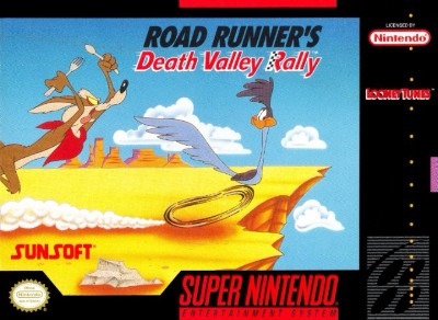 Road Runner's Death Valley Rally Cover Art
