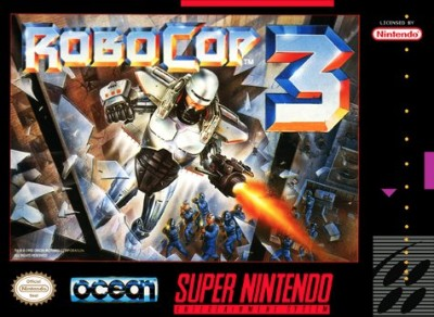 RoboCop 3 Cover Art