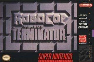 RoboCop vs. Terminator Cover Art