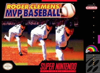 Roger Clemens' MVP Baseball Cover Art