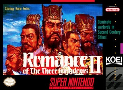 Romance of the Three Kingdoms II Cover Art