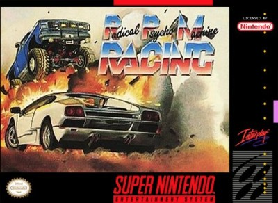 RPM: Radical Psycho Machine Racing Cover Art