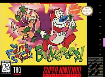 Ren & Stimpy Show: Buckeroo$! Cover Art