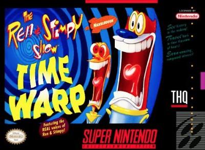 Ren & Stimpy Show: Time Warp Cover Art