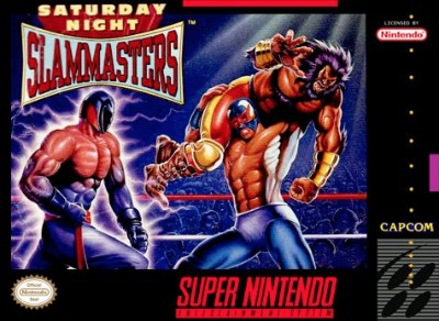 Saturday Night Slam Masters Cover Art