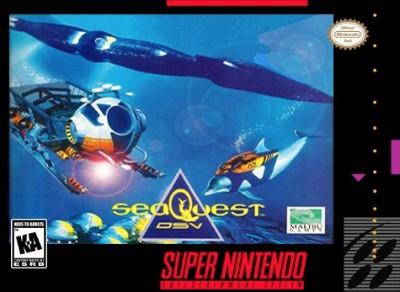 SeaQuest DSV Cover Art