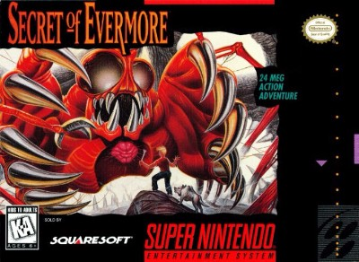 Secret of Evermore Cover Art