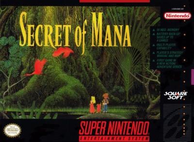 Secret of Mana Cover Art