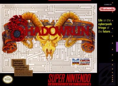 Shadowrun Cover Art