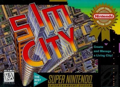 SimCity Cover Art