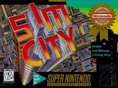 SimCity [Player's Choice] Cover Art