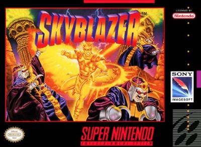 Skyblazer Cover Art