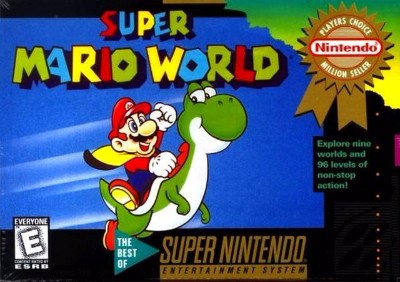 Super Mario World [Player's Choice] Cover Art
