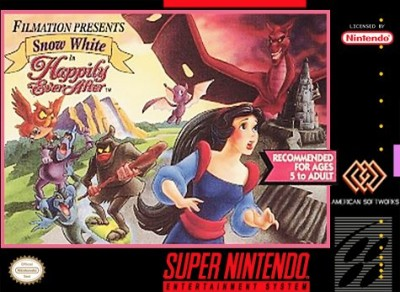Snow White: Happily Ever After Cover Art