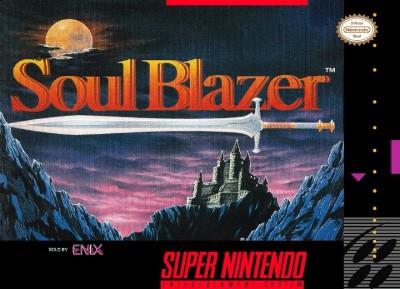 Soul Blazer Cover Art