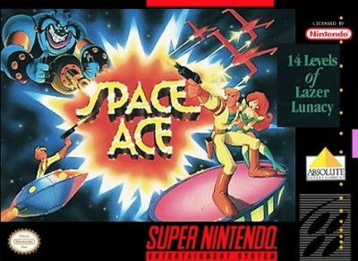 Space Ace Cover Art
