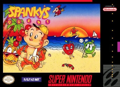 Spanky's Quest Cover Art