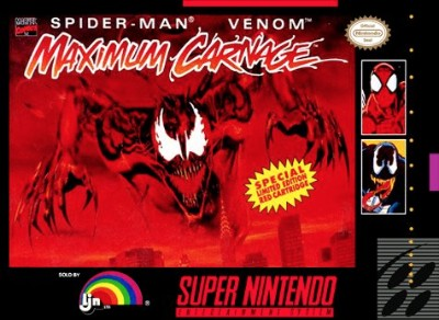 Spider-Man & Venom: Maximum Carnage [Red] Cover Art