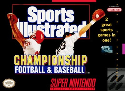 Sports Illustrated Championship Football/Baseball Cover Art