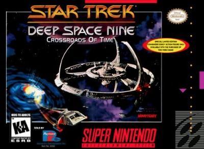 Star Trek Deep Space Nine: Crossroads of Time Cover Art