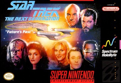 Star Trek: The Next Generation: Future's Past Cover Art