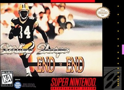 Sterling Sharpe's End 2 End Cover Art
