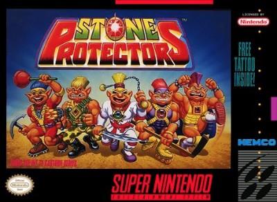 Stone Protectors Cover Art