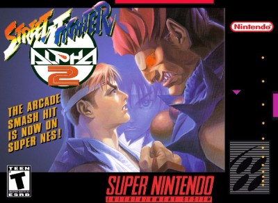 Street Fighter Alpha 2 Cover Art