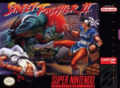 Street Fighter II Cover Art