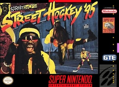 Street Hockey '95 Cover Art