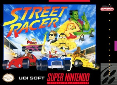 Street Racer Cover Art