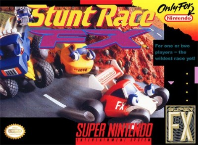 Stunt Race FX Cover Art
