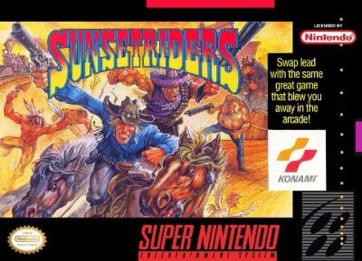Sunset Riders Cover Art