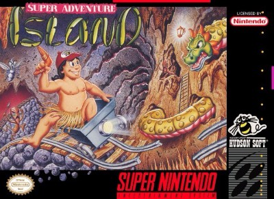 Super Adventure Island Cover Art