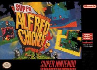 Super Alfred Chicken Cover Art
