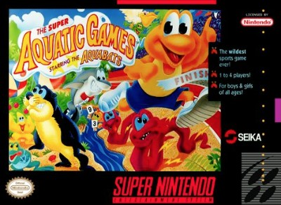 Super Aquatic Games Cover Art