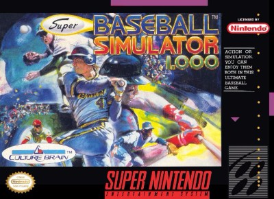 Super Baseball Simulator 1.000 Cover Art
