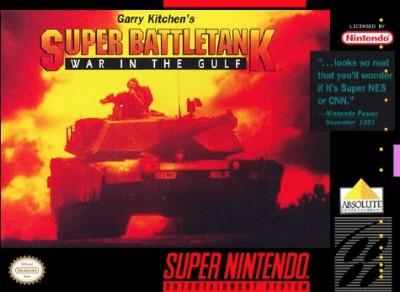 Super Battletank: War in the Gulf Cover Art